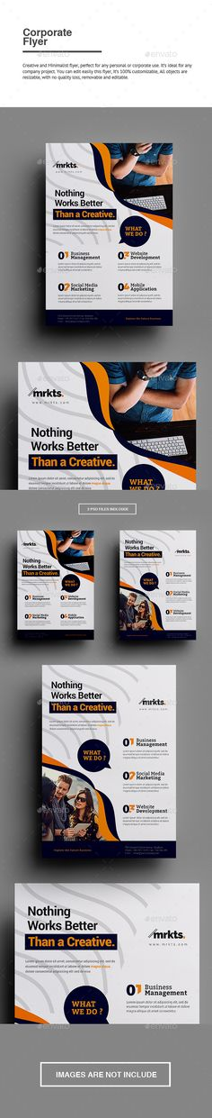 Buy Corporate Flyer by punkl on GraphicRiver. Testimonial Corporate Flyer Creative and Minimalist flyer, perfect for any personal or corporate use. It's ideal for . Graphic Design Templates, Business Flyer Templates, Flyer Design Templates, Print Templates, Brochure Template, Corporate Brochure, Brochure Design, Cool Business Cards, Business Flyers