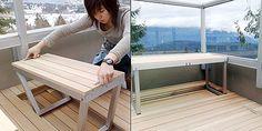 Muebles para balcones pequeños - DecoraHOY