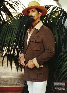 Tony Ward by Gonzalo Machado for GQ Spain