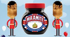 Ma'amite: Special edition jar launched to celebrate Diamond Jubilee Justus Von Liebig, Marketing Slogans, Acquired Taste, British English, Marmite, London Calling, Small Island, Great Britain, Souvenir