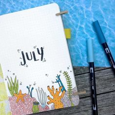 25 July welcome pages for your Bullet Journal Bullet Journal Month, Bullet Journal Tracker, Bullet Journal Themes, Bullet Journal Layout, Bullet Journal Inspiration, Junk Journal, Planner Diario, Journal Aesthetic, Handmade Journals