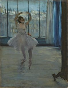 """Edgar Degas, La Danseuse dans L'atelier du photographe, 1875. Courtesy Pushkin Museum, Moscow   VIE Magazine: Home & Decor Issue September/October 2016   """"Masters of the Modern Age""""   Story by Tori Phelps and Photography Courtesy of Foundation Louis Vuitton"""