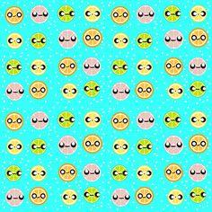 Citrus fizzy  fabric by rcmzstudio on Spoonflower - custom fabric