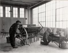 Farm machinery, Mech. Engineering. 1923. UHPC, University Archive, Archives and Special Collections, CSU, Fort Collins, CO