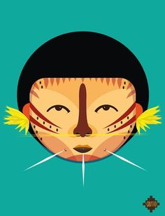 Eye-Catching Illustrations Of Tribes From Around The World - DesignTAXI.com