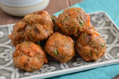 Slimming Eats Pork and Sweet Potato Meatballs - gluten free, dairy free, paleo, Whole30, Slimming World and Weight Watchers friendly