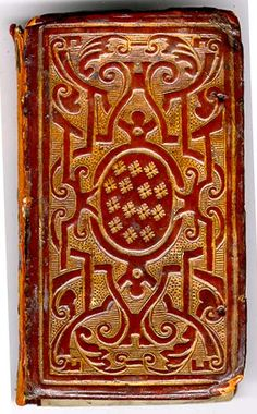 Sixteenth Century Trade Bindings  HUNNIS, William  Seven sobs of a sorrowful soule  London: 1589 [BD1-l.40]