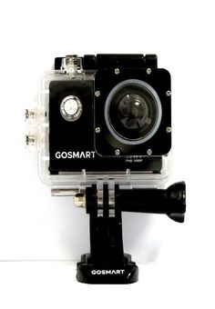 GoSmart Action Camera ICON 7 -Gosmart Action Camera ICON 7 features CMOS sensors with 2 inches screen size, 12 megapixel and comes with WI-FI. It captures videos at resolution of No interal storage facility and optical zoom features. Camera Icon, Action, Group Action