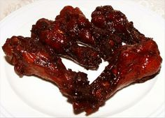 MMMmm these are tasty wings, sticky but tasty. Excellent as an appetizer or part of your Dim Sum Brunch. Have them as part of your home cooked Chinese dinner. Braised Chicken Wings Recipe, Chicken Wing Recipes, Entree Recipes, Asian Recipes, Chinese Recipes, Chinese Desserts, Party Recipes, Dinner Recipes, Duck Recipes