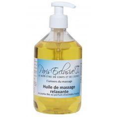 L'Huile de massage relaxante Paris Exclusive Cosmetics au jojoba Bio et  au parfum d'orchidée fraîche est un soin corps hydratant, nourrissant et très adoucissant.