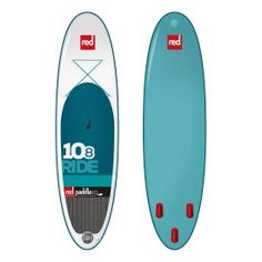 """Free 3 piece paddle with your 10'8"""" Ride SUP purchase! Only at Green Water Sports! http://greenwatersports.com/shop/brand/red-paddle-co"""