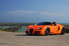 "2013 Bugatti Veyron Grand Sport Vitesse - Adam asks, ""dad, can this be my first car?"""