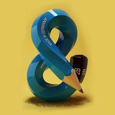 3D #ampersand by @yenuedotcom #36hourstofiu #36daysoftype #fiubcn #36days_amp