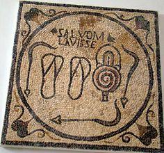 Sabratha museo mosaicos romanos Libia