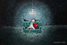 BrokenLetters: Ilustraciones: Amanda Cass