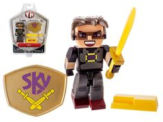 For Sky, not all that glitters is gold. It could be better! It could be butter! Using his impressive butter hoard, he specially forged the Butter Knife, his trademark blade. This pack includes 2.75″ Sky figure along with his Butter Sword, Butter, and Shield.