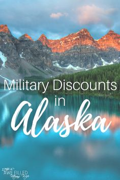 If you are planning a trip or live in the great state of Alaska? Here's a list of military discounts you may want to check out! #Military #Travel #MilitaryDiscount #Alaska Alaska Cruise, Alaska Travel, Travel Usa, Travel Tips, Travel With Kids, Family Travel, Family Vacations, Military Marriage, Army Wives