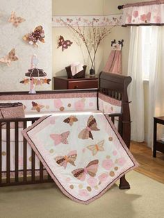 It's nice to see cherry wood with light colors. I plan on doing light colors with my cherry crib.
