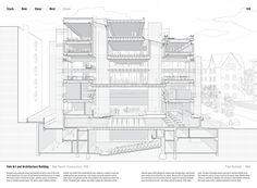 """Galeria de Analisando o """"Manual of Section"""": o desenho arquitetônico mais…"""