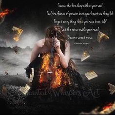 #sense #fire #deep #soul #forget #flames #passion #burn #heart #soul #noise #noiseinyourhead #sweet #music # #you #soulkissing #words #thoughts #creative #ink #spilledink #writing #writersofinstagram #poetry #poetryconmunity 'Sense the fire deep within your soul Feel the flames of passion burn your heart as they lick Forget everything that you have been told Let the noise inside your head Become sweet music' ©Michelle Schaper ~ beautiful image by Enchanted Whispers Art via Pinterest ~