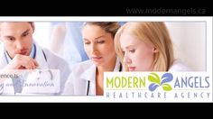 All New Modern Angels Healthcare Agency Video! Toronto, Innovation, Health Care, Angels, Place Card Holders, Train, Modern, Strollers, Health