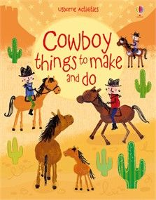 Saddle up and take a ride through the Wild West in this exciting activity book.