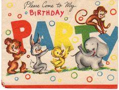 Vintage Party Invite...