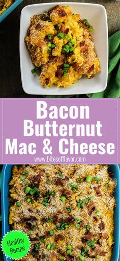 Bacon Butternut Mac