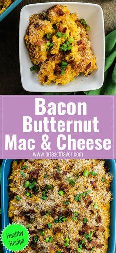 Bacon Butternut Mac