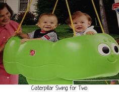 Products Made Just for Twins: Twin Swing