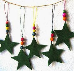 Kerst - Knutselen met kinderen - Sterren -www.educacioilestic.cat