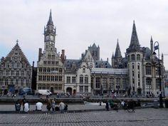 Gent, Gand o Gante (la capital de la provincia de Flandes Oriental)