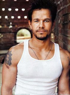 Mark Wahlberg. Yes I have a thing for older men...especially the muscley ones. So sue me.