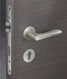 FSB Morrison 1144 Lever Handle and Lock Set, by British designer Jasper Morrison
