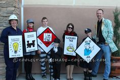 Easy, Unique, Inexpensive, Contest-Winning MONOPOLY Group/Family Costumes… Coolest Halloween Costume Contest