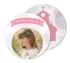"""Faire-part communion """"classique"""""""