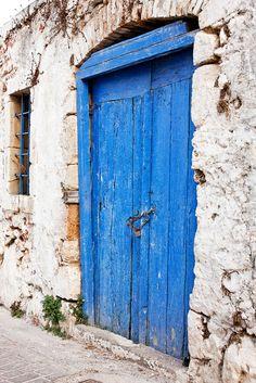 Koutouloufari village, Crete, Greece