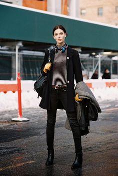 New York Fashion Week AW 2013....Ruby