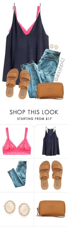 """""""TGIF!!"""" by abbybp42 ❤ liked on Polyvore featuring Hanky Panky, H&M, Billabong, Ross-Simons, Tory Burch and summertime"""