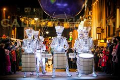 UK entertainment at the Parc des Exposition de Versailles in Paris, France Marketing, Corporate Entertainment, Carnival Themes, Brass Band, Space Party, Event Themes, Walkabout, Event Design, Stage Design