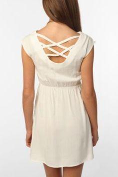 Urban Renewal Lattice Back Dress- UO