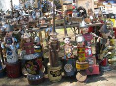 Um. Cut Up Dolls?  at the Brimfield Antique Fair (Brimfield Fair) in Brimfield, Massachusetts