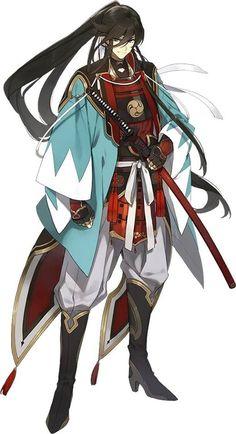 Izumi no Kami Kanesada - Touken Ranbu - Image - Zerochan Anime Image Board Fantasy Character Design, Character Design Inspiration, Character Art, Chica Anime Manga, Anime Art, Touken Ranbu Kanesada, Samurai Anime, Samurai Artwork, Anime Warrior