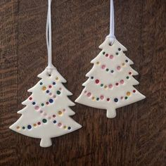 Image of party light christmas tree ornament