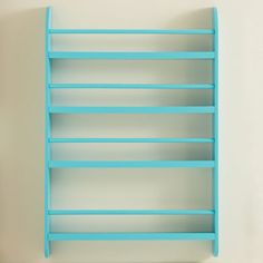 Greenaway Gallery Bookcase - Turquoise