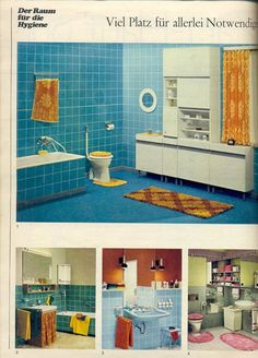 Deco inspiration: Bathroom from the 60´s