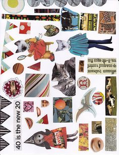 Collage Sheet by Becky F, via Flickr