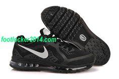 4709ab116362 Nike Air Max 2014 Black White Sneakers For Men