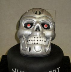 Terminator Cake Gallery on Cake Central Themed Cupcakes, Theme Cakes, Wall Hung Toilet, 30th Party, Cake Central, Cake Gallery, How To Make Cake, Cake Decorating, Decorating Ideas