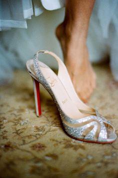 gorgeous wedding shoe